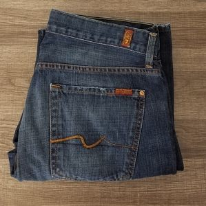 7 For All Mankind Men's Jeans Bootcut 36